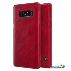 Ôn Tập Trên Bao Da Qin Thời Trang Cao Cấp Cho Điện Thoại Samsung Galaxy Note 8 Mau Đỏ Hang Nhập Khẩu