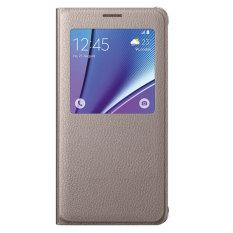 Mua Bao Da S View Danh Cho Galaxy Note 5 Vang Champange Rẻ Vietnam