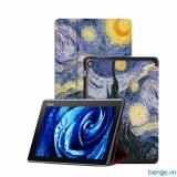Bao Da Samsung Cho Galaxy Tab A 10 1 2016 S Pen P580 P585 Họa Tiết Hoa Văn Moon Trong Vietnam