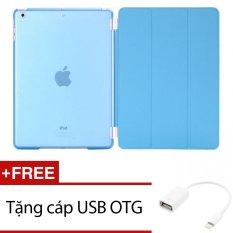Ôn Tập Bao Da Smart Cover Da Mỏng Danh Cho Ipad 2 3 4 Xanh Tặng 1 Cap Usb Otg Oem Trong Hồ Chí Minh