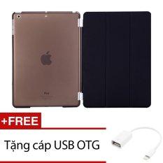 Giá Bán Bao Da Smart Cover Mỏng Danh Cho Ipad Mini 1 2 3 Đen Tặng 1 Cap Usb Otg Oem Nguyên