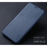 Bán Bao Da X Level Danh Cho Samsung Galaxy A9 Pro Tặng Kem Kinh Cường Lực Nau X Level