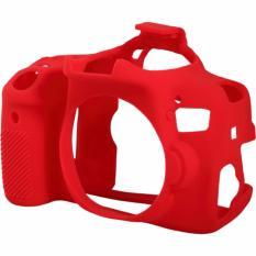 Hình ảnh Bao Silicon bảo vệ máy ảnh Easy cover cho Canon 750D (Màu Đỏ)