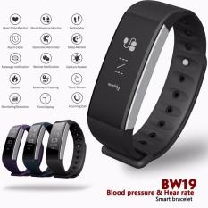 Hình ảnh Betreasure BW19 Bluetooth Vòng Tay Thông Minh Đo Huyết Áp Đeo Tay cho Theo Dõi Từ Xa-intl