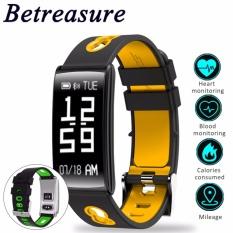Hình ảnh Betreasure tay thông minh BW22 ip67 chống nước huyết áp nhịp tim theo dõi hoạt động đeo thiết bị Cho Android IOS-quốc tế