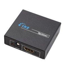 Hình ảnh Black 1 X 2 HDMI to HDMI Splitter Switcher Box for 1080P 3D HDCP HDTV DVD - intl