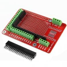 Hình ảnh Đen/Bạc Hợp Kim Nhôm Ốp Lưng Kim Loại Dành Cho Raspberry Pi 2 Chế Độ-quốc tế