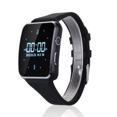 Hình ảnh Đen/Trắng X6 Đồng Hồ Thông Minh Smartwatch Sim Whatsapp Facebook cho Điện Thoại Android-quốc tế