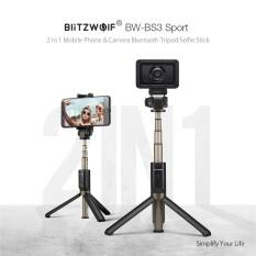 Hình ảnh BlitzWolf BW-BS3 Sport Versatile 3 in 1 Bluetooth Tripod Selfie Sticks for Sport Camera Smart Phone BlitzWolf BW-BS3 Sport Versatile 3 in 1 Bluetooth Tripod Selfie Sticks for Sport Camera Smart Phone Black - intl