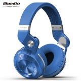 Mua Tai Nghe Bluetooth Đi Kem Kem Mic Bluedio T2S Xanh Dương Quốc Tế Rẻ