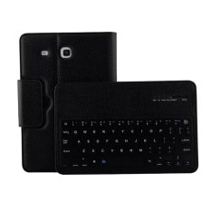 Bán Mua Bluetooth Keyboard Folio Case For Samsung Galaxy Tab E T560 T561 T567 Black Intl