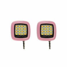 Bộ 02 đèn LED hỗ trợ chụp hình điện thoại 16 bóng