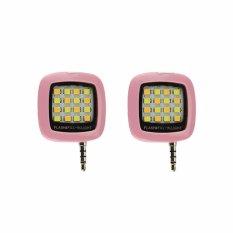 Bộ 02 đèn LED hỗ trợ chụp hình điện thoại 16 bóng VNR