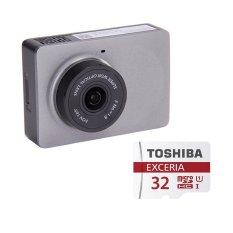 Cửa Hàng Bộ 1 Camera Hanh Trinh Xe Hơi O To Xiaomi Yi Smart Car Dvr Xam Va 1 Thẻ Nhớ Toshiba 32Gb Class 10 Xiaomi Hồ Chí Minh