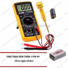 Bộ 1 Đồng Hồ Đo Vạn Năng Excel Dt9205A Kem Pin Va 1 But Thử Điện Gamoshop Tặng Them 1 Pin 9V Mới Nhất