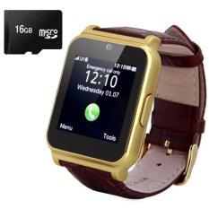 Bộ 1 Đồng Hồ Thong Minh Day Da Smart Watch W90 Va 1 Thẻ Nhớ 16Gb Vietnam Chiết Khấu