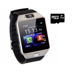 Giá Bán Bộ 1 Đồng Hồ Thong Minh Smartwatch Dz09 Vang Va 1 Thẻ Nhớ 8Gb Dz09 Mới