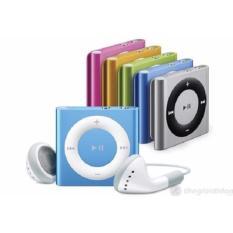 Bộ 1 máy nghe nhạc MP3 mini vỏ nhôm ,kẹp áo(màu ngẫu nhiên) và 1 Tai nghe