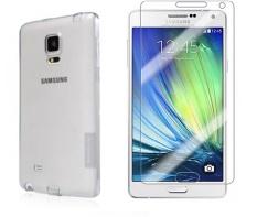 Ôn Tập Tốt Nhất Bộ 1 Ốp Lưng Silicon Galaxy J7 Nillkin Va Kinh Cường Lực Galaxy J7 Proglass