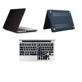 Cửa Hàng Bộ 1 Ốp Lưng Va 1 Miếng Lot Ban Phim Silicone Đen Huyền Cho Macbook Pro Retina 13 3 Inch Rẻ Nhất
