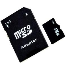 Bộ 1 Thẻ Nhớ Microsdhc 8Gb 1 Adapter Peepvn Sd01 Đen Rẻ
