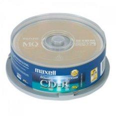 Trang bán Bộ 10 đĩa trắng CD-R Maxell