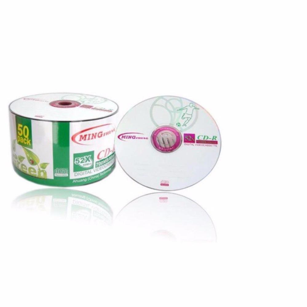 Giá Khuyến Mại Bộ 100 cái đĩa trắng CD Mingsheng