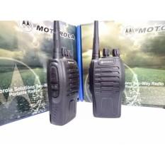Hình ảnh Bộ 2 Bộ Đàm Chất Lượng Cao Motorola Gp 668+Tặng 02 Tai Nghe (Đen)