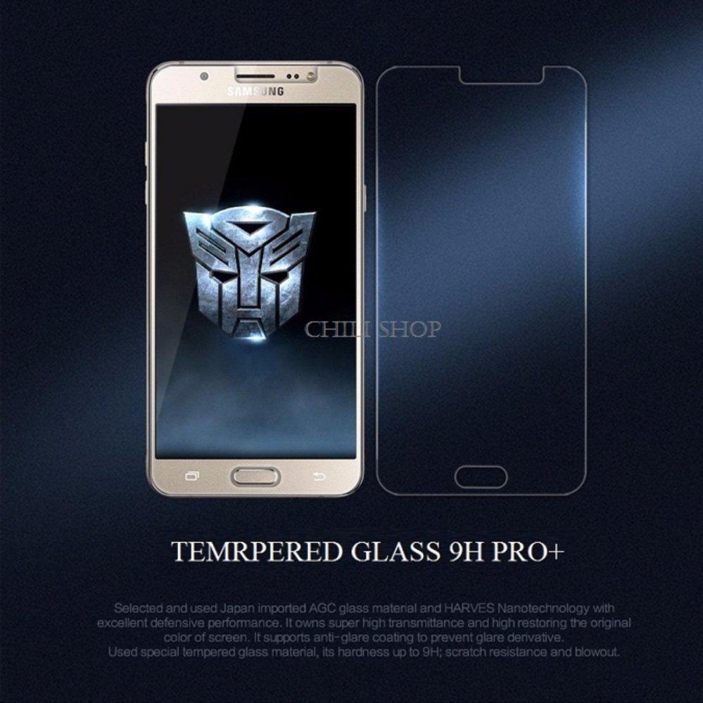 Bộ 2 Miếng Dán Kính Cường Lực Samsung Galaxy C5- Tempered Glass 9H Pro