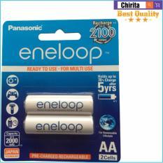 Ôn Tập Bộ 2 Pin Sạc Aa Panasonic Eneloop 1900 Mah