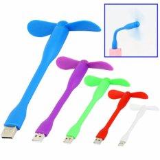 Hình ảnh Bộ 2 Quạt Mini 2 cánh cắm cổng USB( MÀU NGẪU NHIÊN)