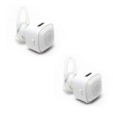 Cửa Hàng Bộ 2 Tai Nghe Bluetooth Mini Nvpro V4 Trắng Rẻ Nhất