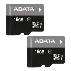 Ôn Tập Bộ 2 Thẻ Nhớ 16Gb Adata Micro Sdhc Đen Mới Nhất