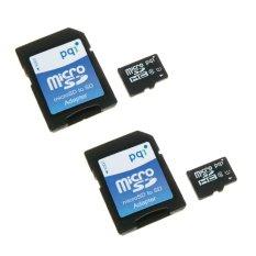 Bán Bộ 2 Thẻ Nhớ 16Gb Micro Sdhc Pqi U1C10 Va Adapter Đen Pqi Trực Tuyến
