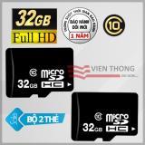 Mua Bộ 2 Thẻ Nhớ 32Gb Micro Sdhc Class 10 Rẻ Hồ Chí Minh
