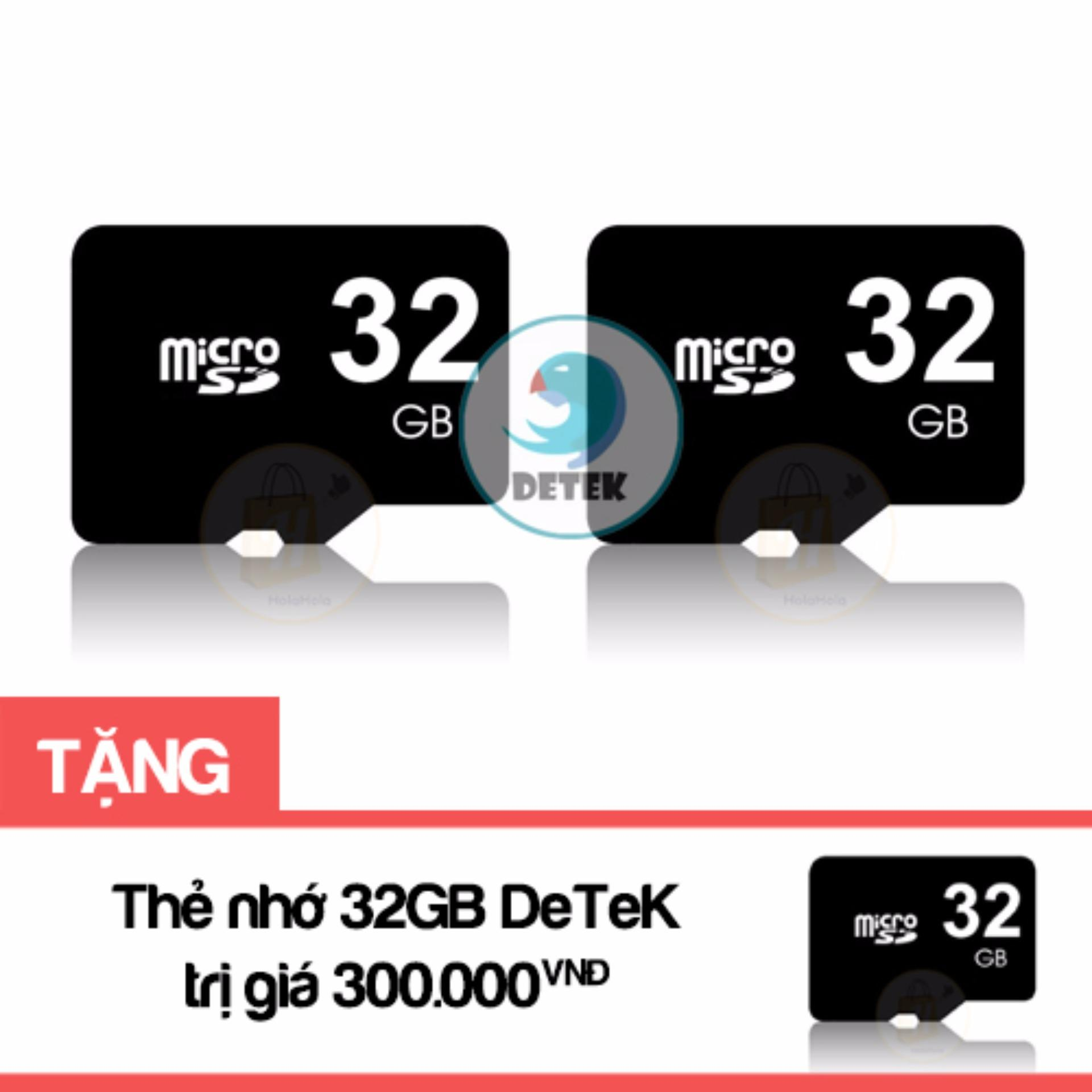 Bộ 2 Thẻ Nhớ Microsd 32Gb Detek