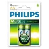 Bán Mua Bộ 2 Vĩ Pin Sạc Philips 2 Vien Aa 1600Mah Cần Thơ