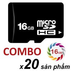 Ôn Tập Cửa Hàng Bộ 20 Thẻ Nhớ 16Gb Micro Sdhc Đen Trực Tuyến