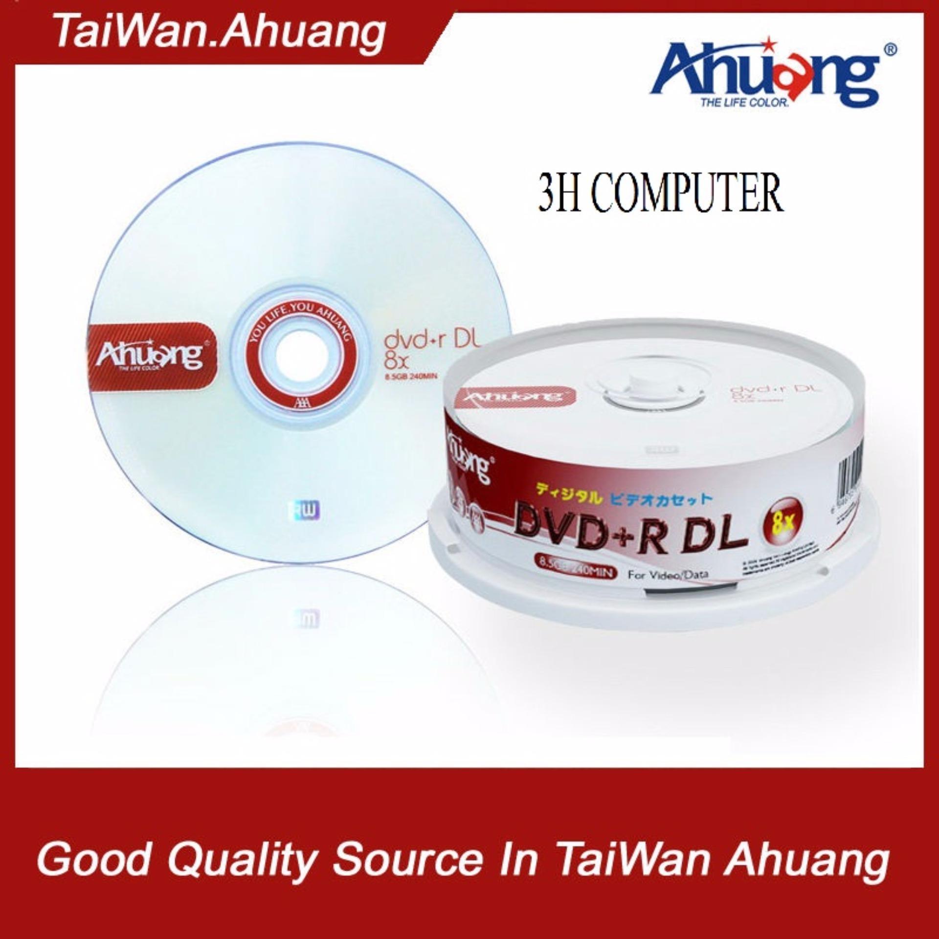 Chi tiết sản phẩm Bộ 25 đĩa trắng DVD AHUANG 8.5G DVD+R DL
