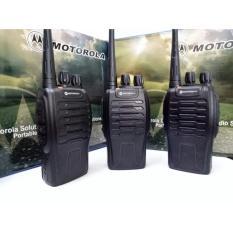 Bộ 3 Bộ Đàm Chất Lượng Cao Motorola Gp668 + Tặng 03 Tại Nghe Theo Máy (Đen)