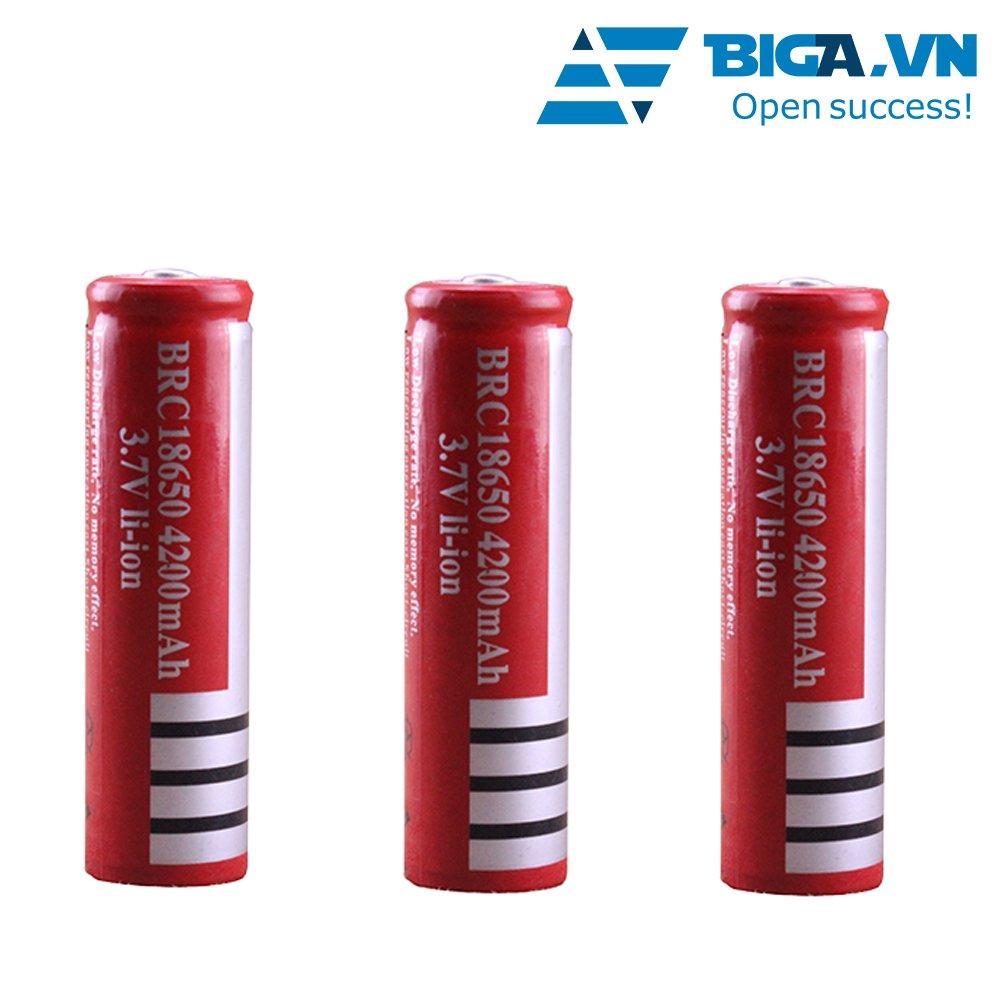 Bộ 3 Pin Sạc Cao Cấp Đỏ 4200mAh US02010