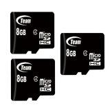 Bộ 3 Thẻ Nhớ 8Gb Team Micro Sdhc Đen Team Chiết Khấu 40