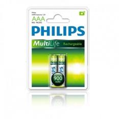 Bán Bộ 3 Vĩ Pin Sạc Philips 2 Vien Aaa 900Mah Có Thương Hiệu