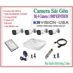 Giá Bán Bộ 4 Camera Kbvision Kx 1003C4 1 Kbvision Tốt Nhất