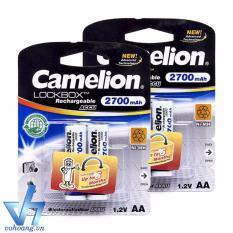 Bộ 4 pin sạc AA Camelion AlwaysReady 2700mAh