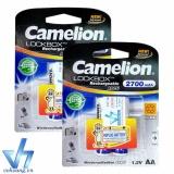 Bộ 4 Pin Sạc Aa Camelion Alwaysready 2700Mah Tem Hợp Lực Camelion Chiết Khấu 50
