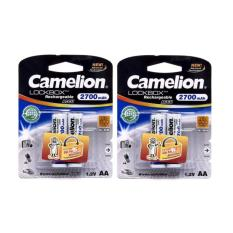 Bán Pin Sạc Aa Camelion 2700Mah Bộ 4 Vien Mới