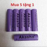 Giá Bán Bộ 5 Pin Sạc Li Ion Akasha Tr 18650 4000Mah Tặng 1 Pin Cung Loại Mới