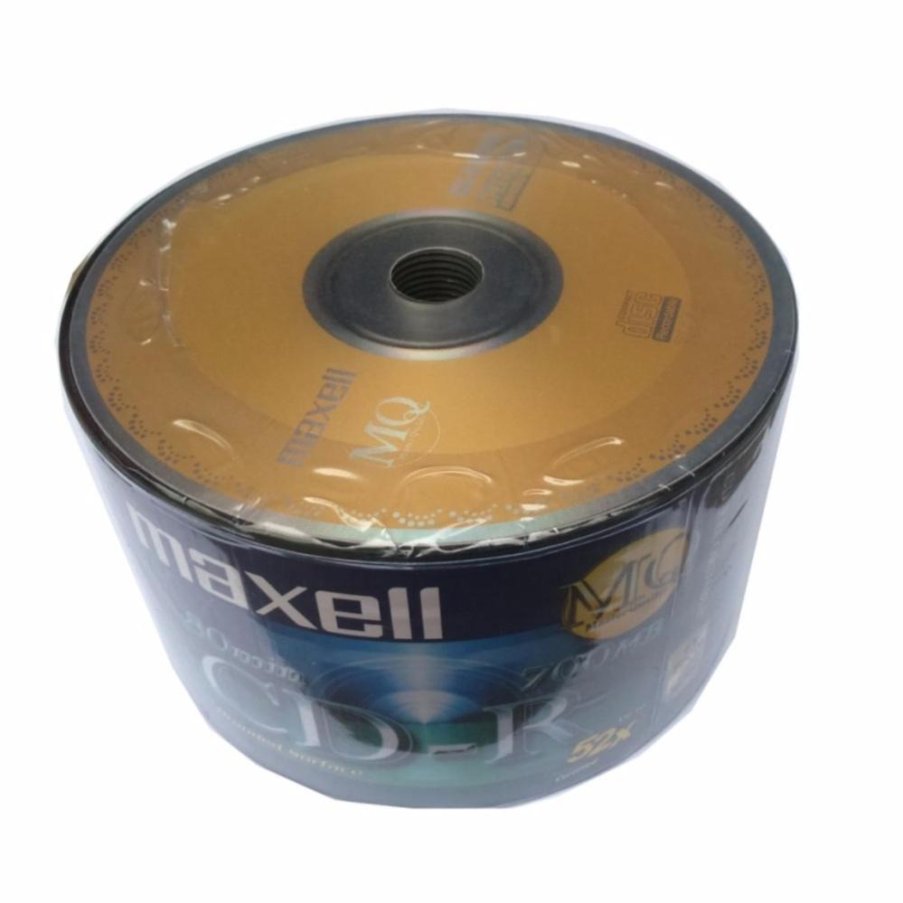 Giá bán Bộ 50 đĩa trắng CD-R Maxell 700MB