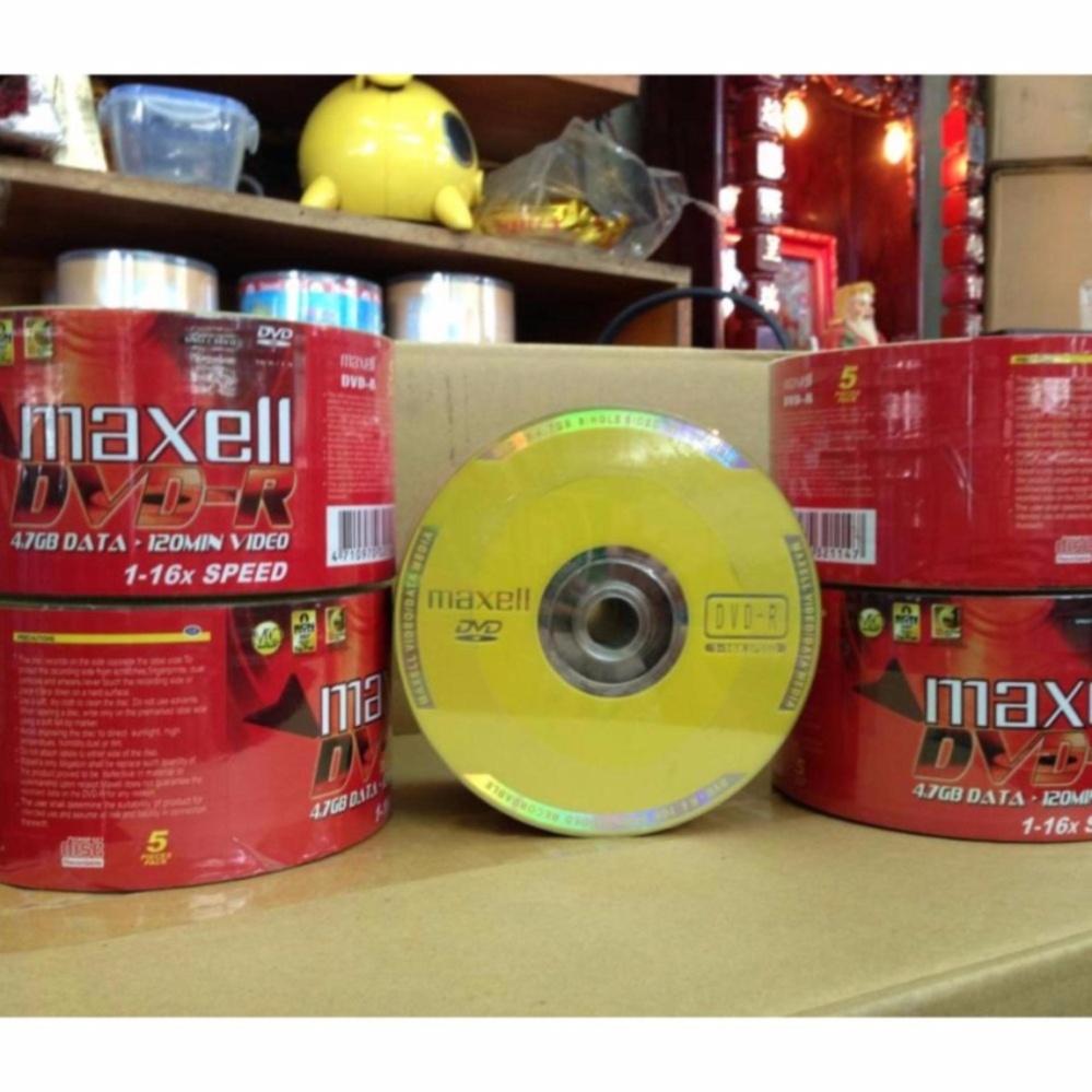 Giá Niêm Yết Bộ 50 đĩa trắng DVD-R Maxell 4.7GB
